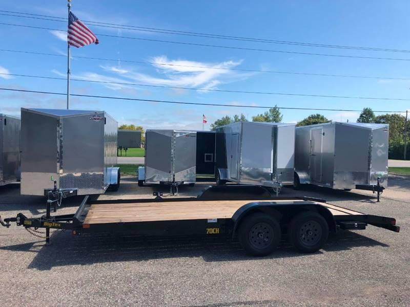 2020 Big Tex 7X18 CAR HAULER/EQUIPMENT TRAILER 7K