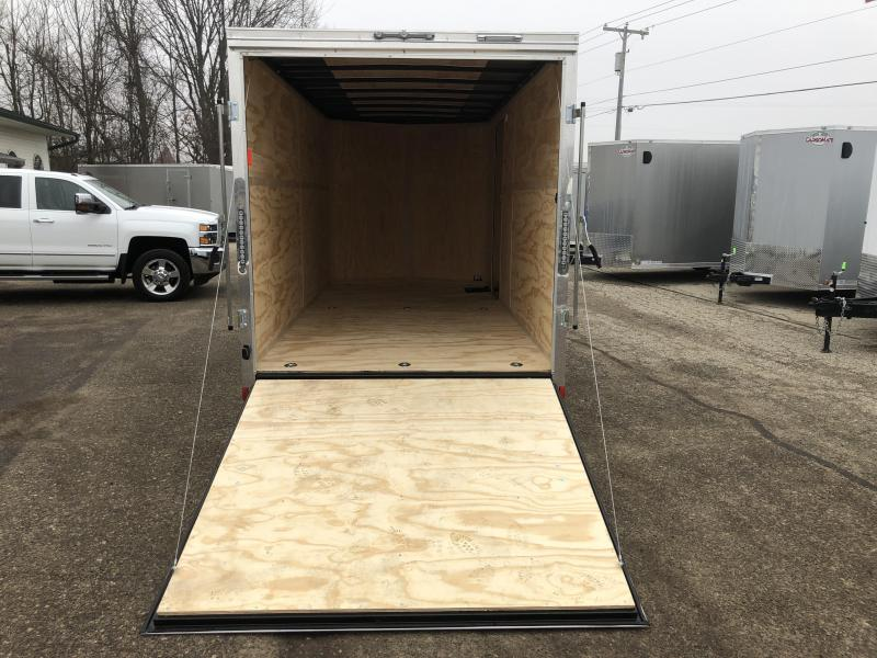 "2020 Cargo Mate 7X16 VNOSE RAMP DOOR 12"" EXTRA HEIGHT UTV PKG"