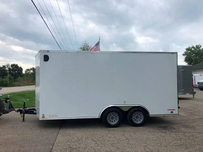 2020 Cargo Mate 8.5X16 VNOSE RAMP DOOR UTV/CAR HAULER PKG