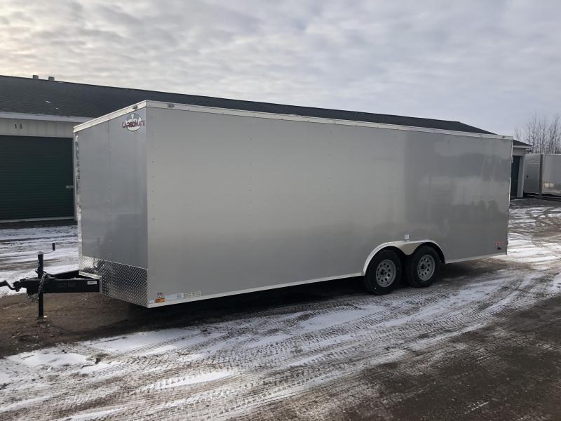 2020 Cargo Mate 8.5X22 VNOSE RAMP DOOR CAR HAULER PKG