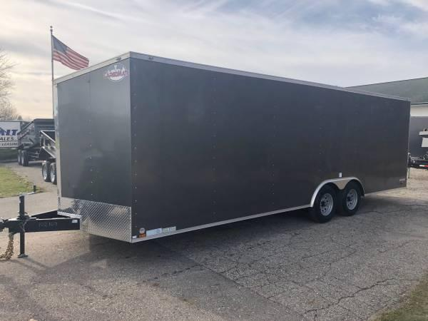2020 Cargo Mate 8.5X24 VNOSE RAMP DOOR CAR HAULER PKG