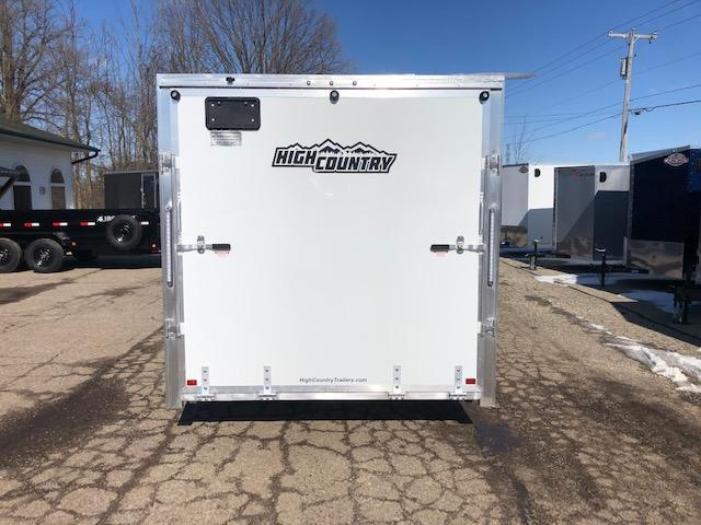2020 HIGH COUNTRY 7.5X29 DRIVE ON DRIVE OFF ALL ALUMINUM SNOWMOBILE TRAILER