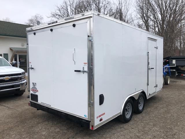 2020 Cargo Mate 8.5X16 VNOSE RAMP DOOR UTV PKG