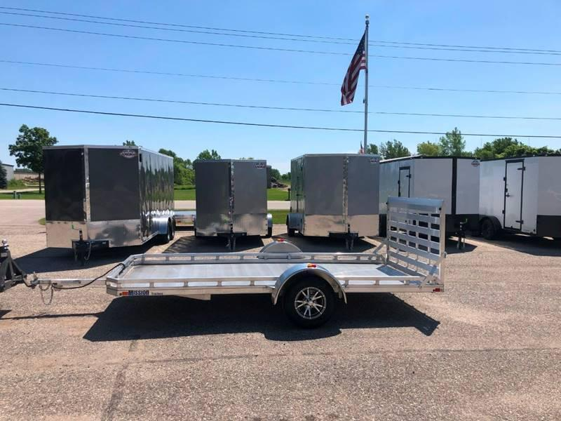 2018 MISSION 6.5X14 ALUMINUM TRAILER