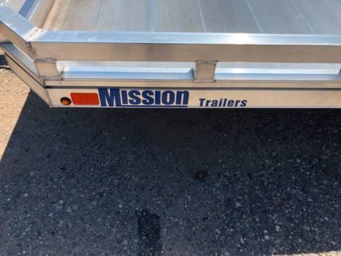 2018 MISSION 6.5X14 ALUMINUM TRAILER