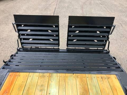 2019 IRONBULL 8.5X22 SUPERWIDE 14K EQUIPMENT TRAILER WITH MONSTER RAMPS