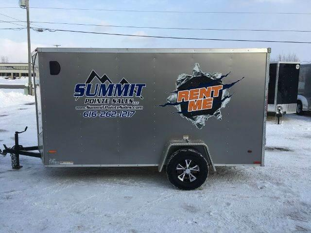 2013 Royal Cargo ENCLOSED RENTAL TRAILER 6X12 V NOSE RAMP DOOR