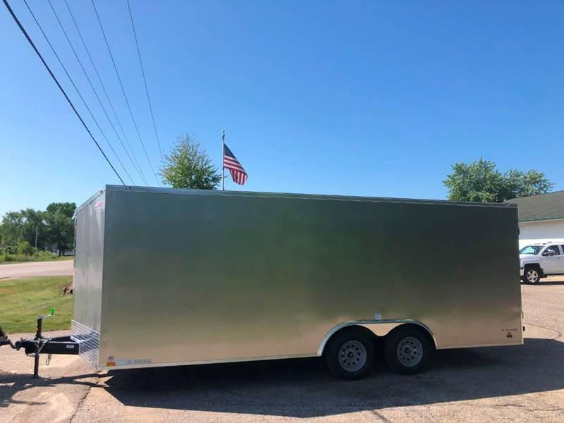 2020 Cargo Mate 8.5X20 VNOSE RAMP DOOR CAR HAULER PKG