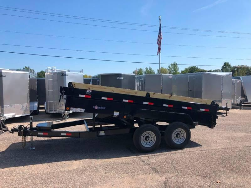 2020 IRONBULL/NORSTAR 7X14 SCISSOR LIFT LOW PRO DUMP TRAILER