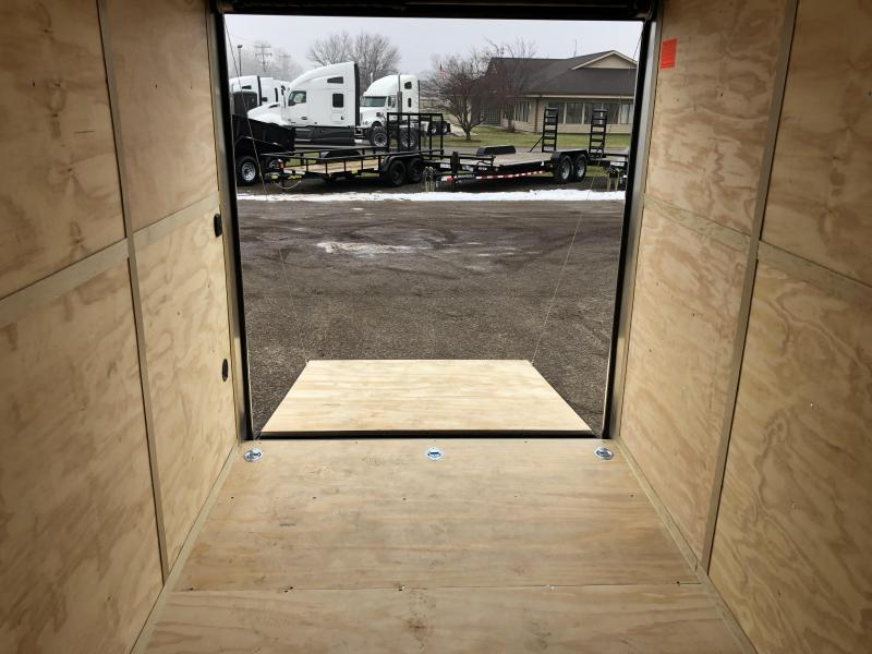 "2020 Cargo Mate 6.5X12 VNOSE RAMP DOOR 12"" EXTRA HEIGHT UTV PKG"