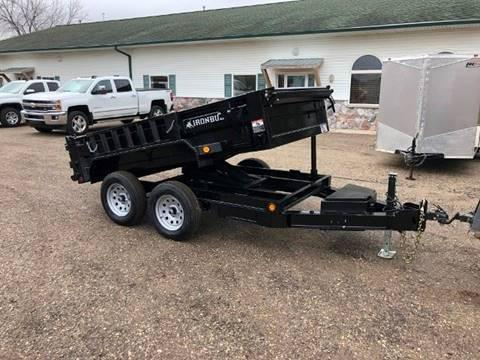 2020 IRONBULL 5X10 SINGLE LIFT DUMP 7K
