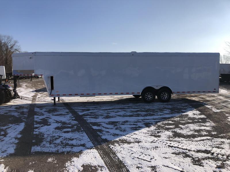 2019 RC 8.5X38 ROUND TOP TORSION AXLE 14K CAR HAULER