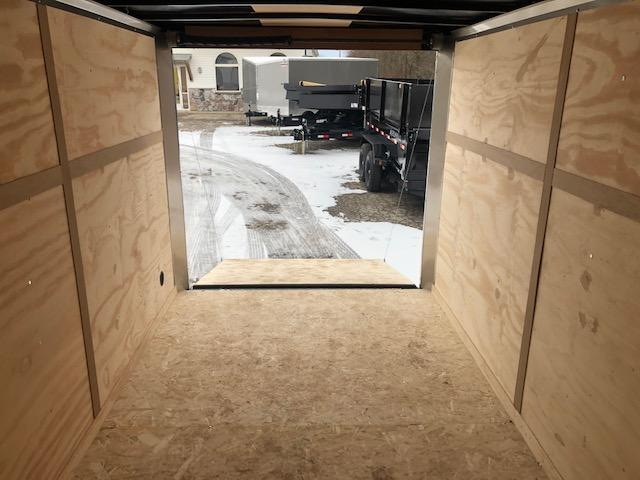 "2020 ROYAL CARGO 7X14 VNOSE RAMP DOOR 6"" EXTRA HEIGHT UTV PKG"