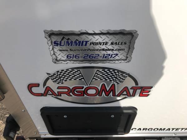 "2020 Cargo Mate 7X14 VNOSE RAMP DOOR 12"" EXTRA HEIGHT UTV PKG"