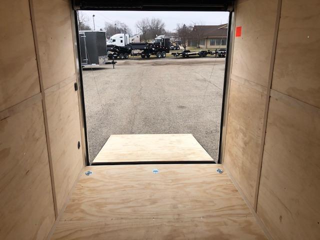 "2020 Cargo Mate 6.5X12 VNOSE RAMP DOOR 12"" EXTRA HEIGHT UTV PKG"