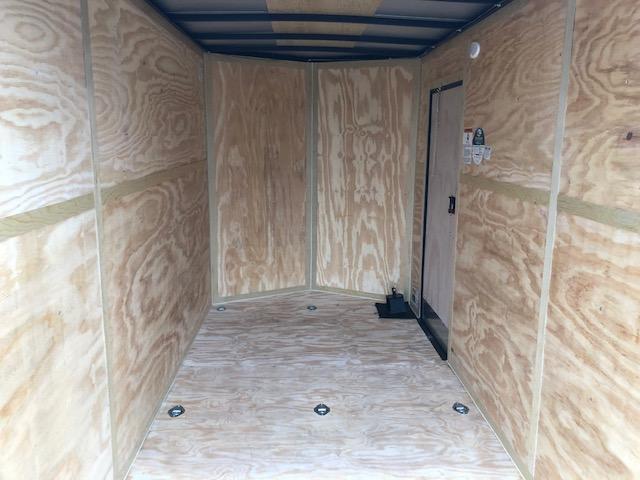 "2020 Cargo Mate 6X12 VNOSE RAMP DOOR 12"" EXTRA HEIGHT UTV PKG"