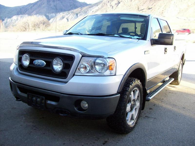 2007 Ford F150 4X4 Quad Cab Truck