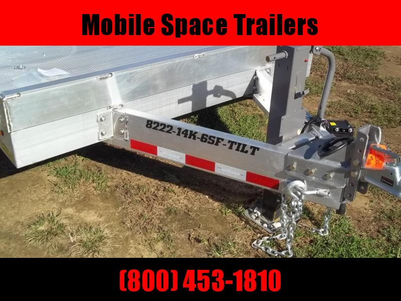 2020 Aluma 8222Tilt14K6SF Equipment Trailer