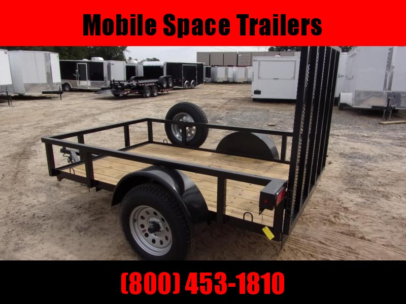 2019 Down 2 Earth Trailers 5x8ut Utility Trailer