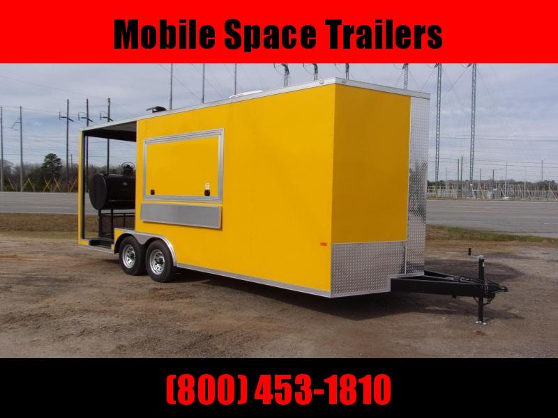 2020 Rock Solid Cargo 8.5x20 Concession W/ 7' Porch Vending / Concession Trailer