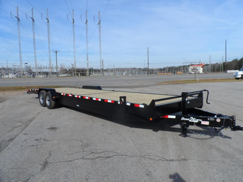 2019 Down 2 Earth Trailers 34 2 Car Hauler Channel