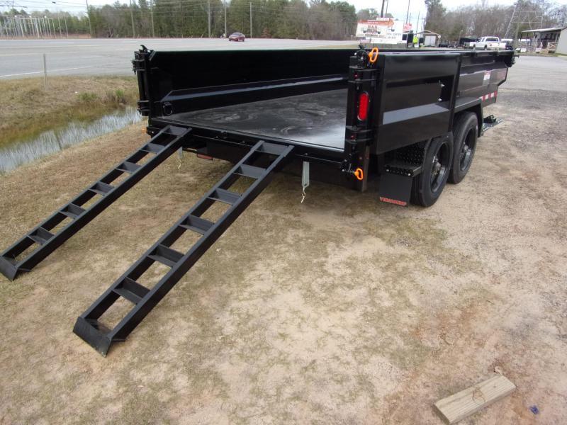Midsota HVHD-14 Dump Trailer 17600 GVWR with hd ramp