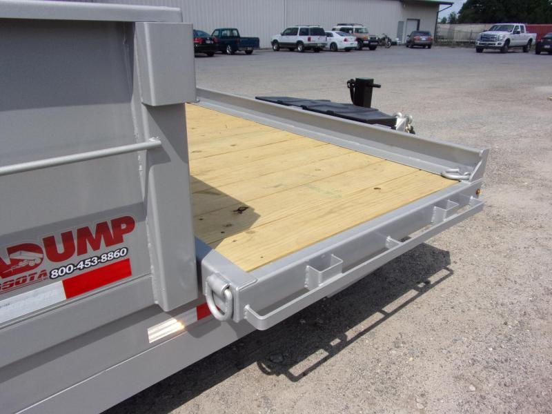 2019 Midsota DUMP 16 FFRD Dump Trailer