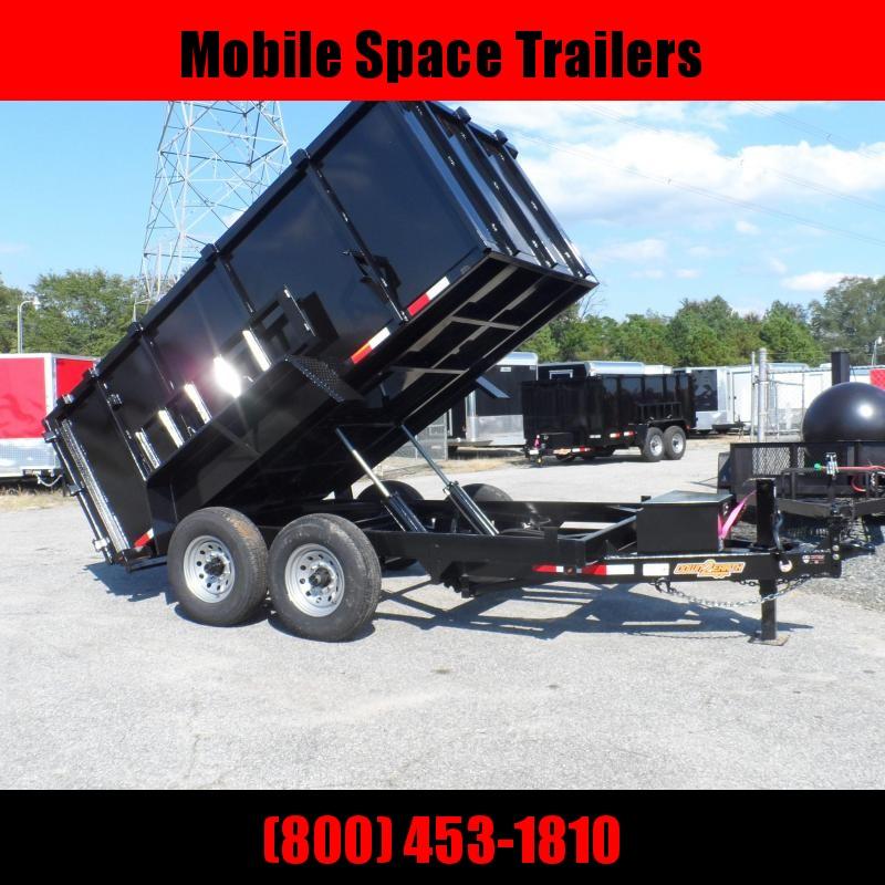 2019 Down 2 Earth Trailers 7x12 48 high side 14k Dump Trailer