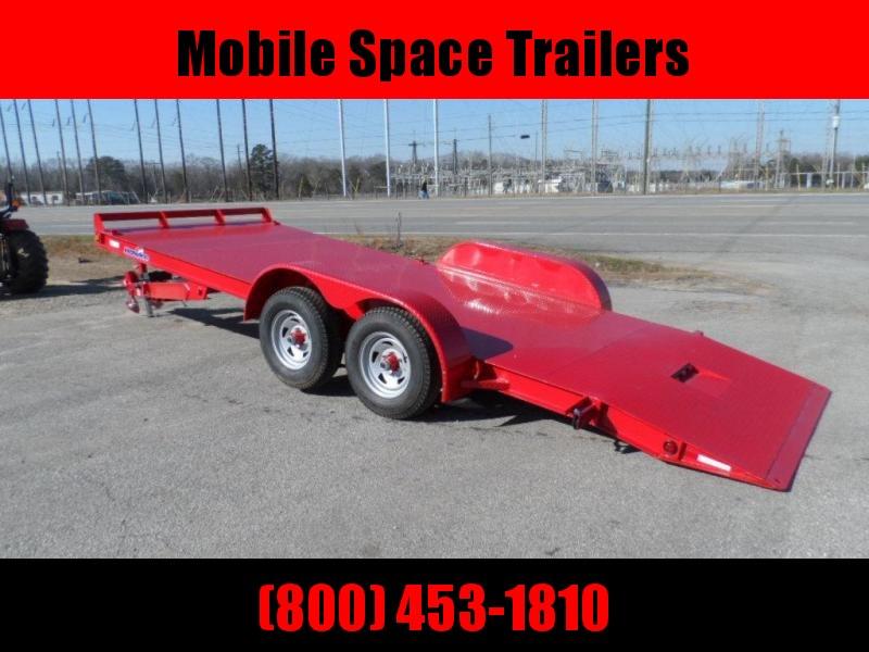2019 Hawke Trailers equipment 82x20 10k Hydraulic tilt deck Equipment Trailer