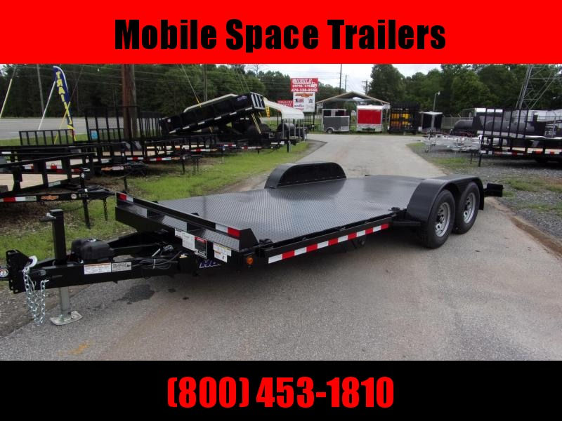 Hawke Trailers equipment 82x20 10k Hydraulic tilt deck Equipment Trailer