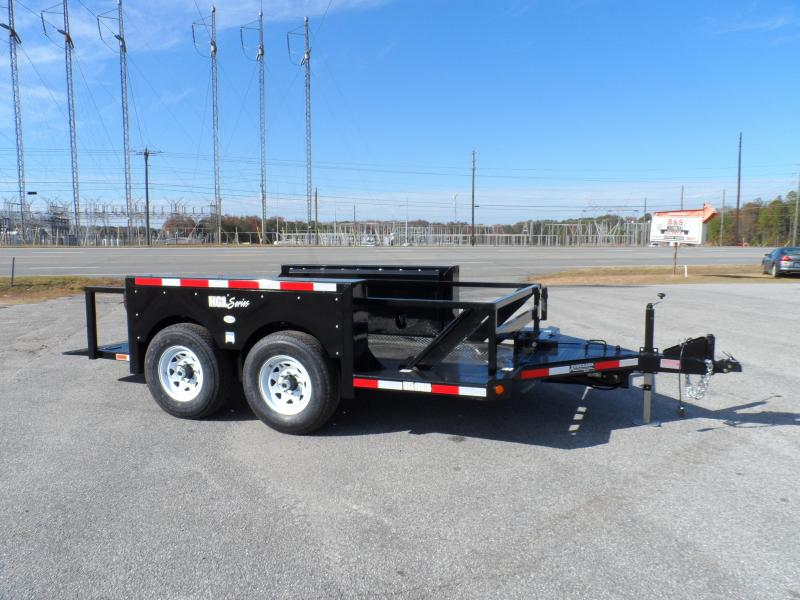 2019 Anderson Manufacturing HGL10614 Equipment Trailer 14ft