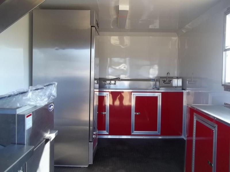 2019 Spartan Cargo 8X16 TK concession Vending / Concession Trailer