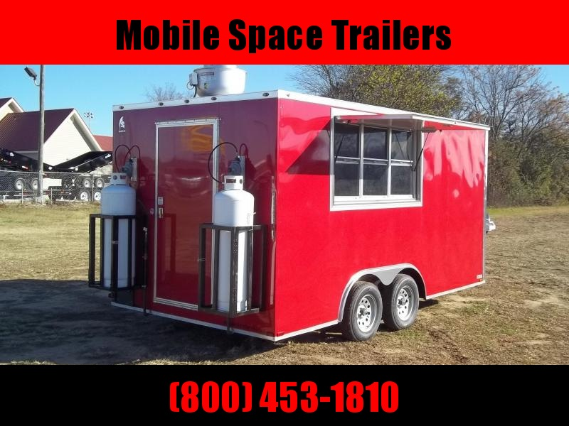 2019 Spartan Cargo 8X16 TK concession Vending / Concession Trailer