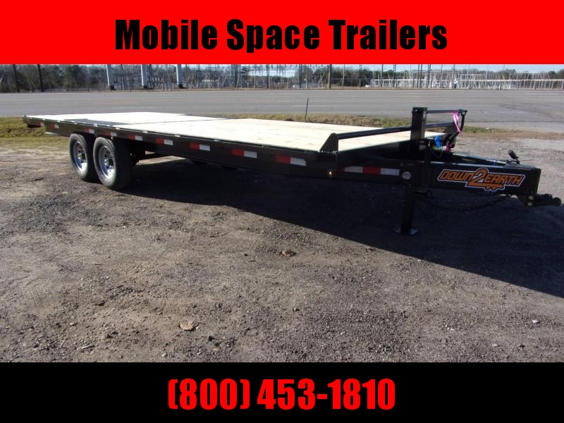 2020 Down 2 Earth Trailers DTE820DO7B Flatbed Trailer