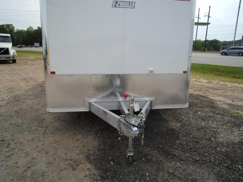 Mission 8.5x24 Wh spread axle ramp door Elite Ecsape door Enclosed Cargo Trailer