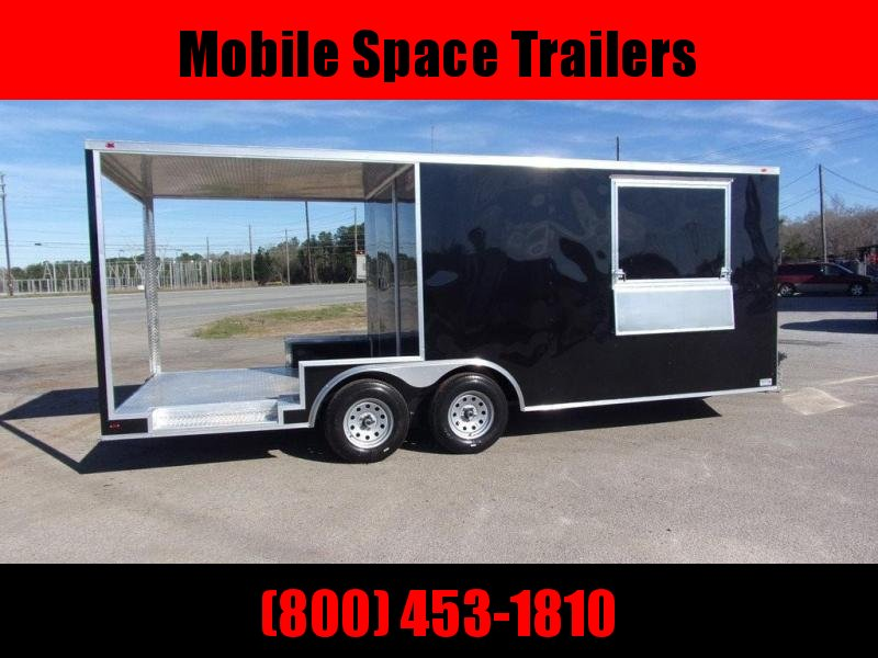 2020 Eagle 8.5x20 Concession 12' box 8' Porch Vending / Concession Trailer