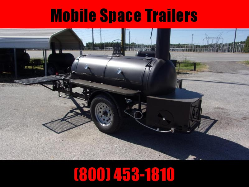 2019 Bubba Grills Shelf 250R510 Reverse Flow Smoker Vending / Concession Trailer