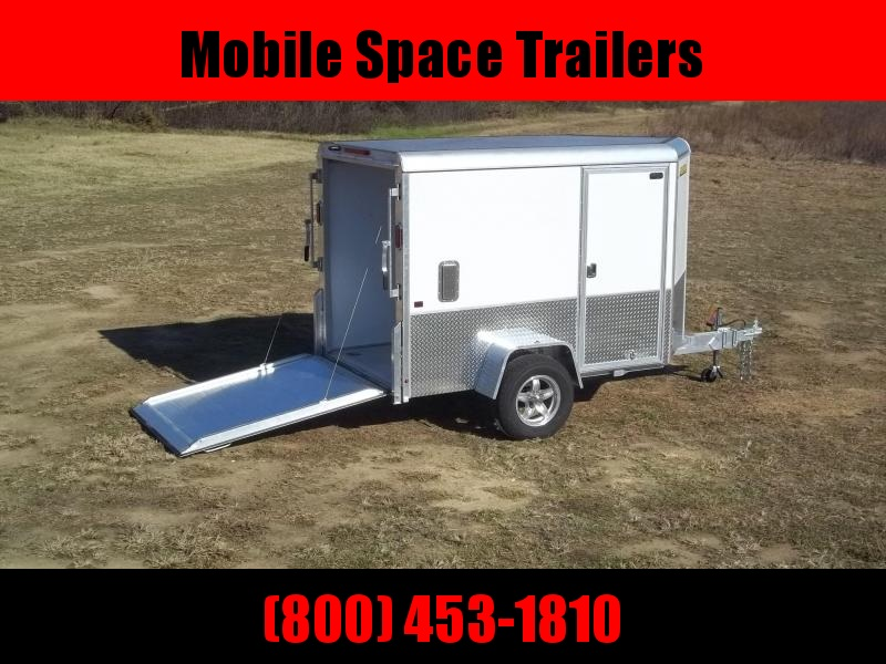 2021 Aluma AE58M 5x8 Enclosed Cargo Trailer