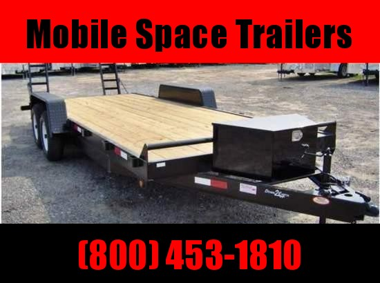 Down 2 Earth Trailers 82x18 7k Equipment Trailer