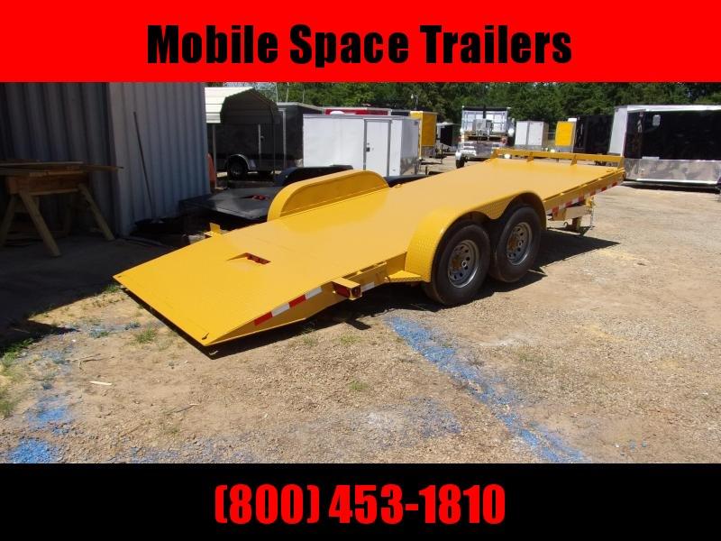 2019 Hawke Trailers equipment 80x20 15k Hydraulic tilt deck Equipment Trailer