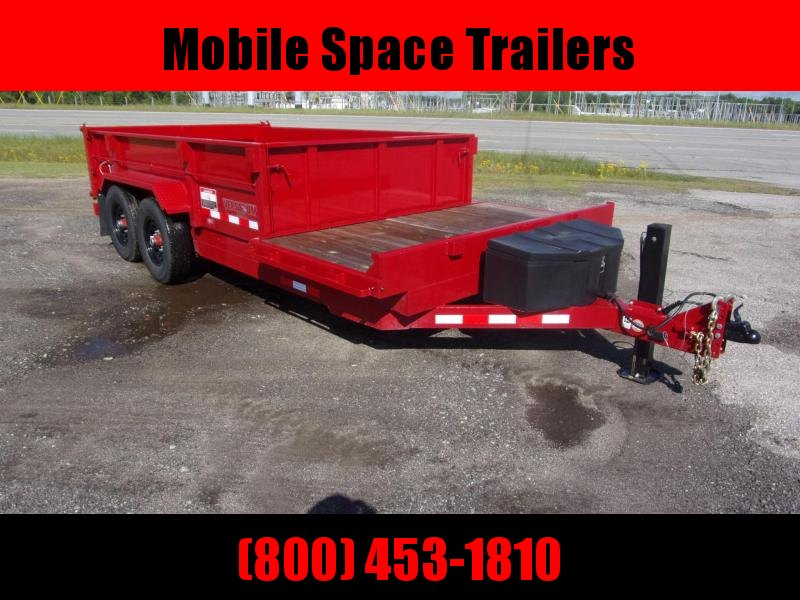 Midsota DUMP 16 FFRD Dump Trailer with Hydraulic Jack