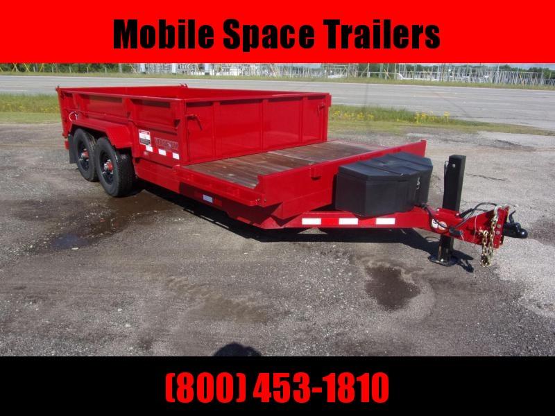 Midsota DUMP 16 FFRD Dump Trailer with Hydraulic Jack