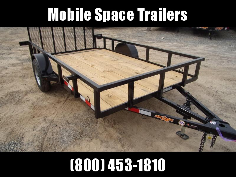 2019 Down 2 Earth Trailers 76x12ut Utility Trailer with dove tail