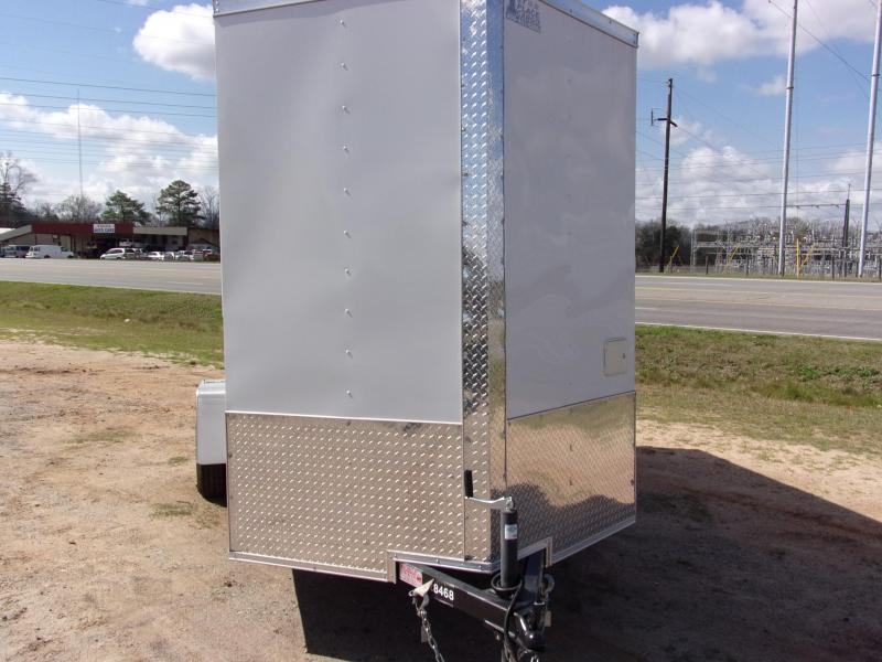 Covered Wagon Trailers 6x12 7' 3x6 Window Hand Sink pkg  Cabinets White Vending Enclosed Cargo Concesion