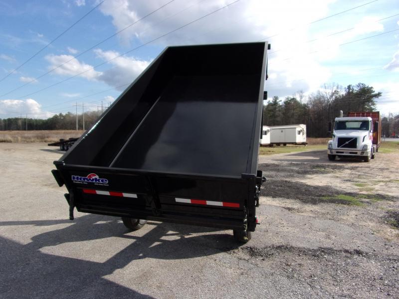 2019 Hawke 6x12 24 high side 10k Deck Over Cardinal Dump Trailer