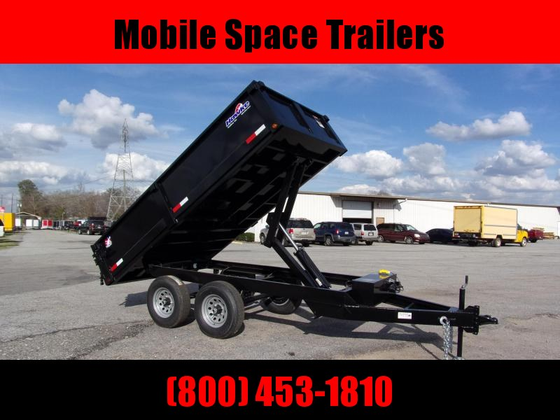 2019 Hawke 6x12 24 high side 10k Deck Over Cardinal Dump Trailer
