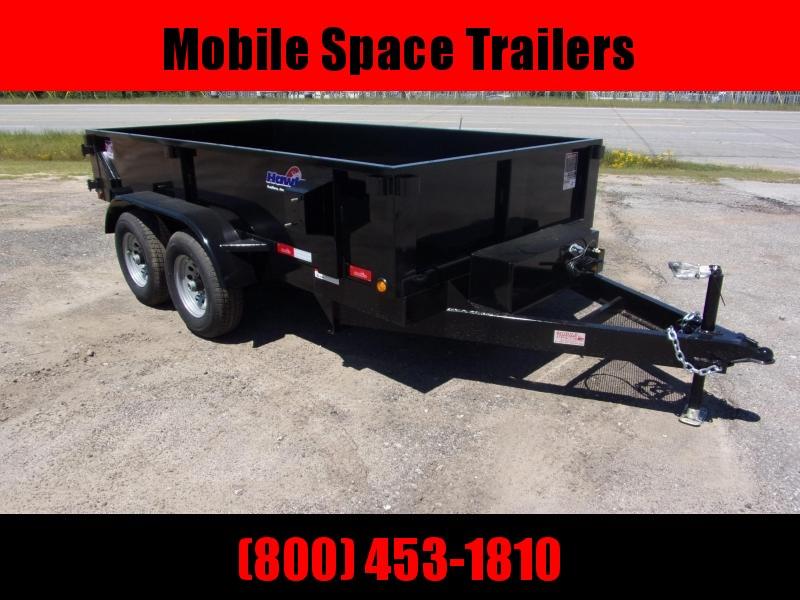 Hawke 6x12 24 high side 10k Low Pro Dump Trailer