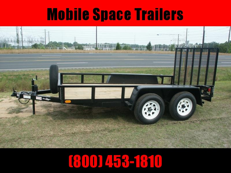 2019 Down 2 Earth Trailers 6x12TA Utility Trailer Tube rail
