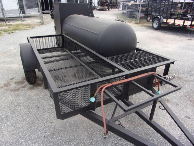 2019 Bubba Grills w Rib Box 250R510 Reverse Flow Smoker Vending / Concession Trailer