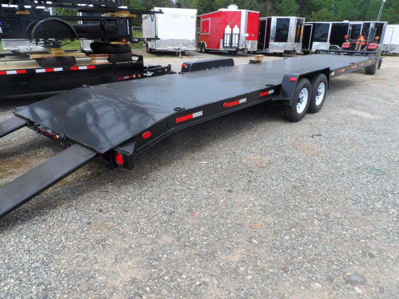 "2019 Superior Trailers 34 2 Car Hauler 8"" Channel Steel Deck"